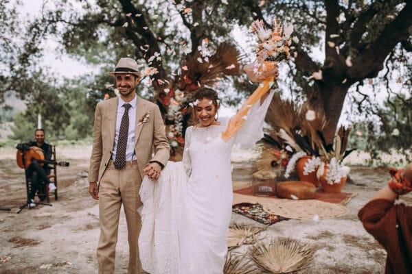 Mel y Carlos boda inspiración marroquí
