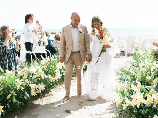 boda playa beach wedding
